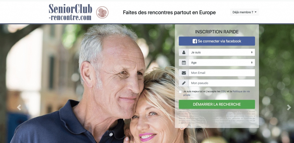 Test complet & Avis Senior Club Rencontre