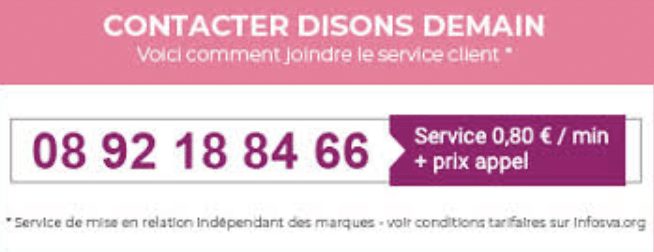 Comment contacter Disons Demain ?