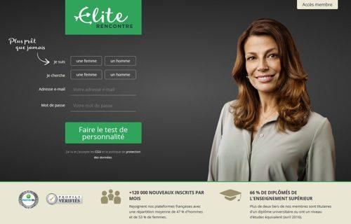 La meilleure alternative : Elite Rencontre Senior