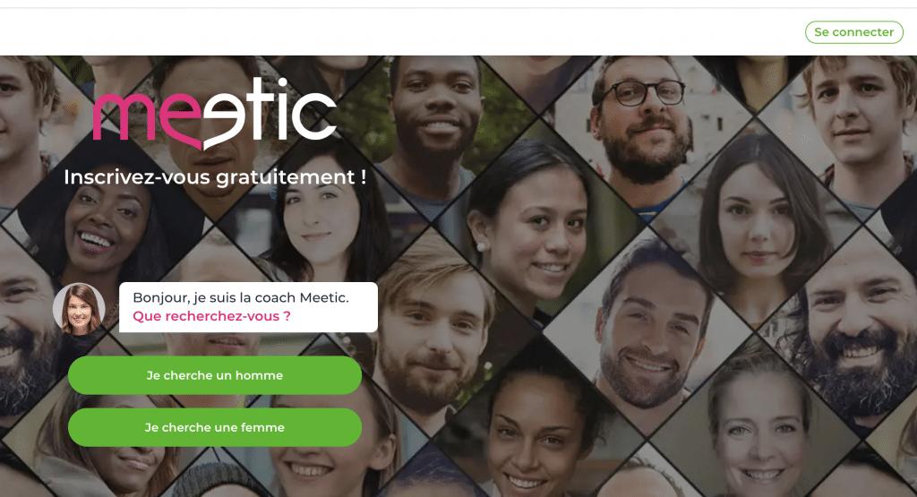 Meetic Senior, une plateforme facile d'utilisation