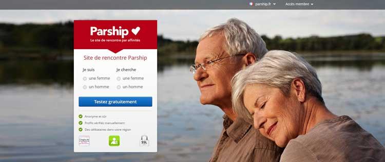 Le meilleur réseau social gratuit pour les seniors : Parship