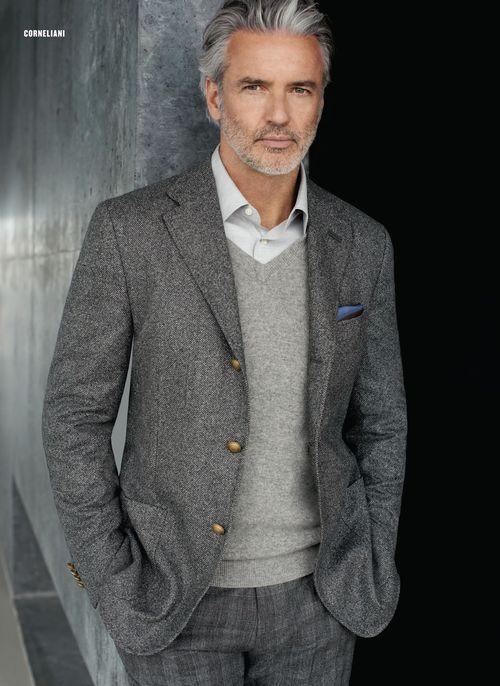 4. S'habiller de vêtements de qualité à 60 ans