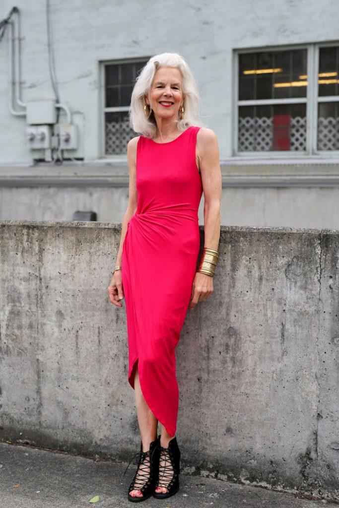 robe femme 70 ans