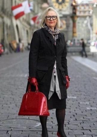sac a main femme 70 ans