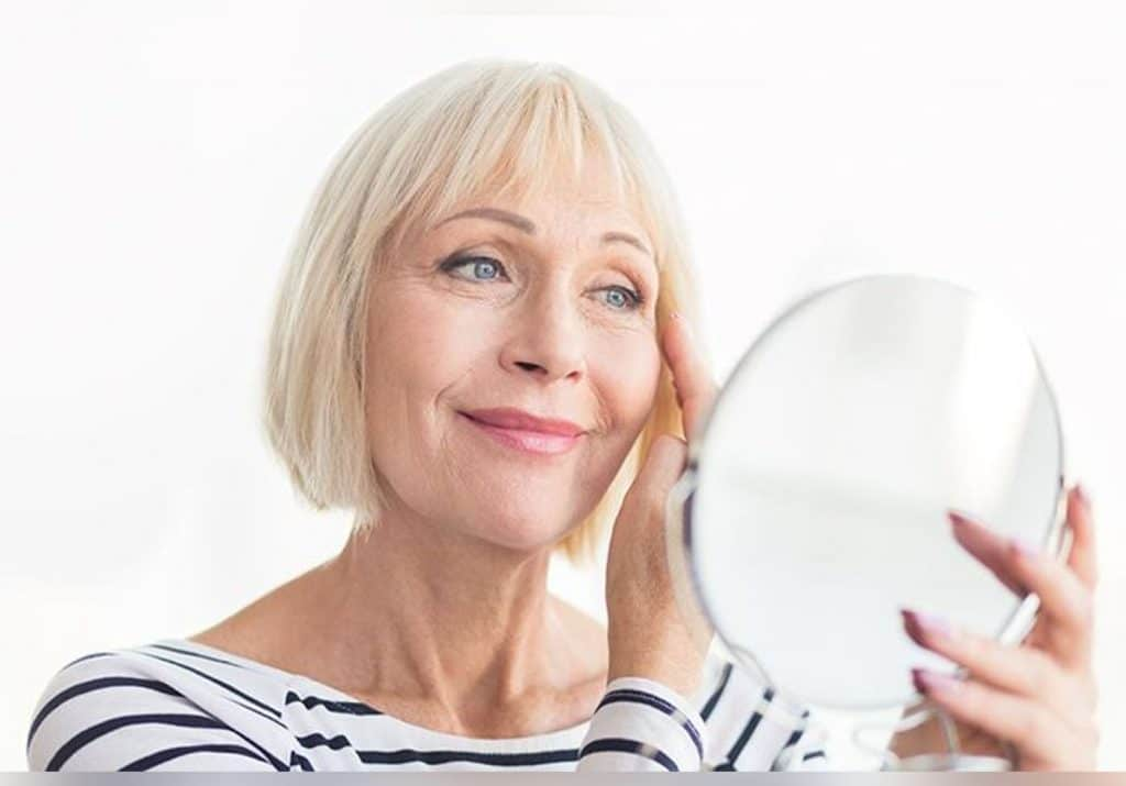 Quel soin visage à 60 ans ?